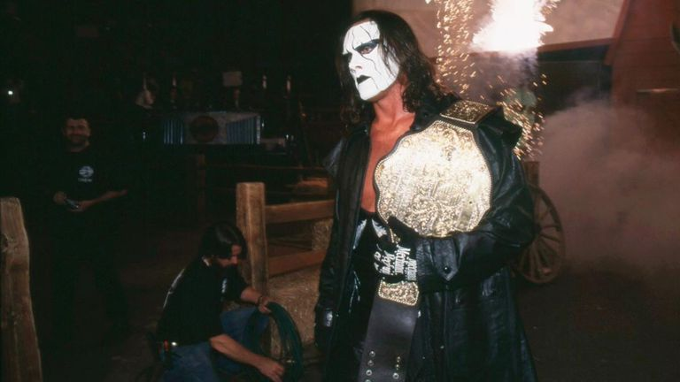 Sting held the WCW world title six times but regrets the fact he never got to take on The Undertaker