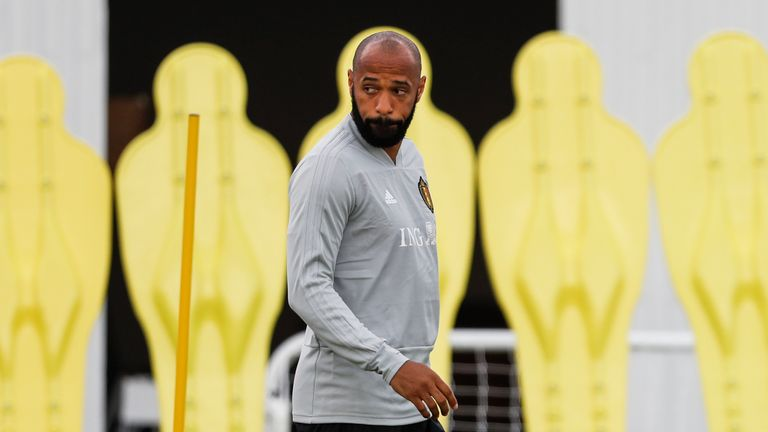 Thierry Henry has worked with Roberto Martinez for Belgium