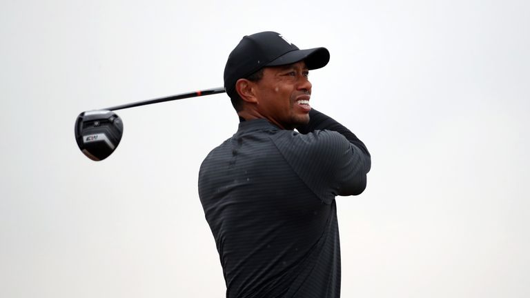 Tiger Woods has a 1.15pm tee time