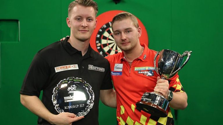 Dimitri van den Bergh will return to defend his title later this year