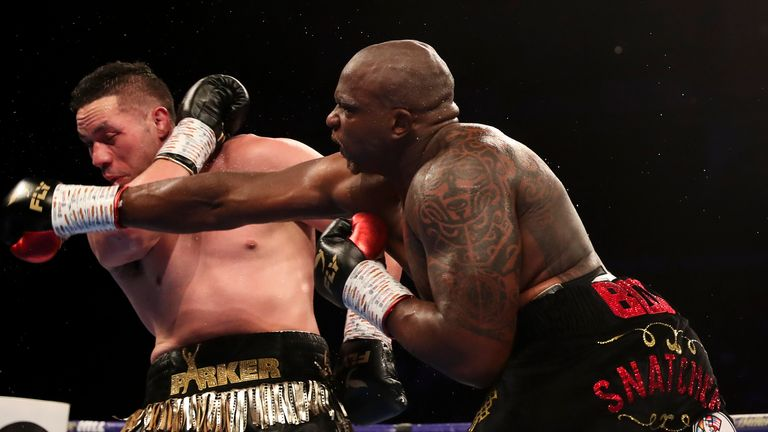 Whyte out-fought Parker at The O2