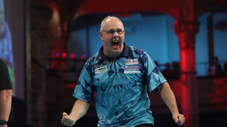 Ian White has never gone beyond the quarter-finals of a major televised PDC tournament