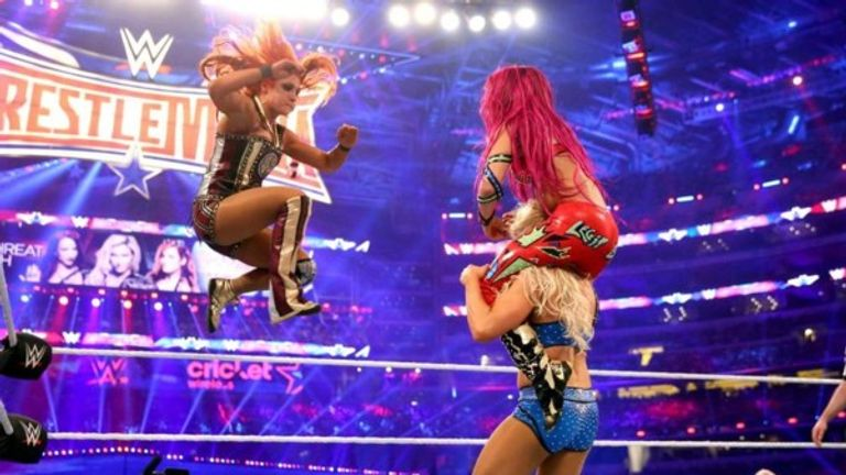 Many believe that the  women's title match between Charlotte Flair, Becky Lynch & Sasha Banks at WrestleMania 32 was the shows standout match.