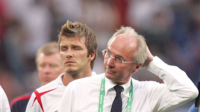 Sven-Goran Eriksson guided England to two World Cup quarter-finals in 2002 and 2006