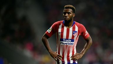 Thomas Lemar scored his first goal for Atletico