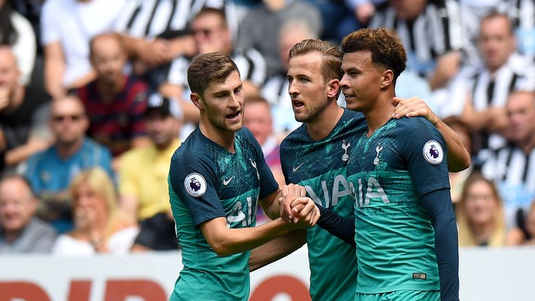 Tottenham won at Newcastle on the opening day