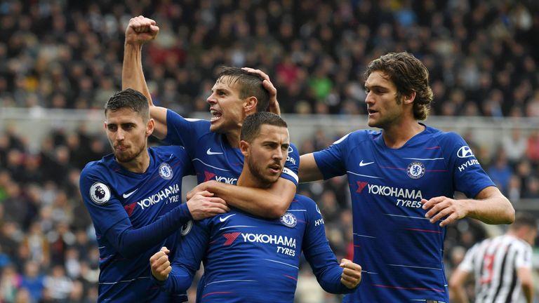 Eden Hazard makes Craig Shakespeare's team of the week