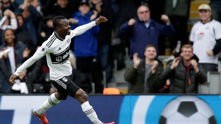 Jean-Michael Seri impressed in Fulham's draw at Brighton