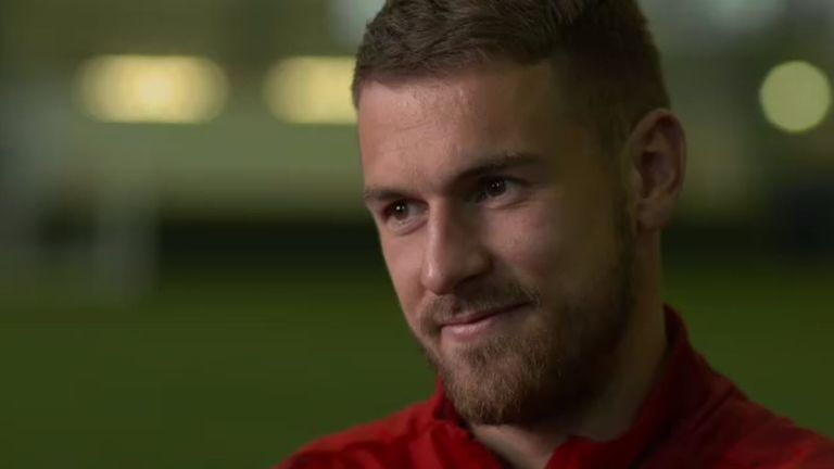 Ramsey says he is 'optimistic' about Arsenal life under Unai Emery