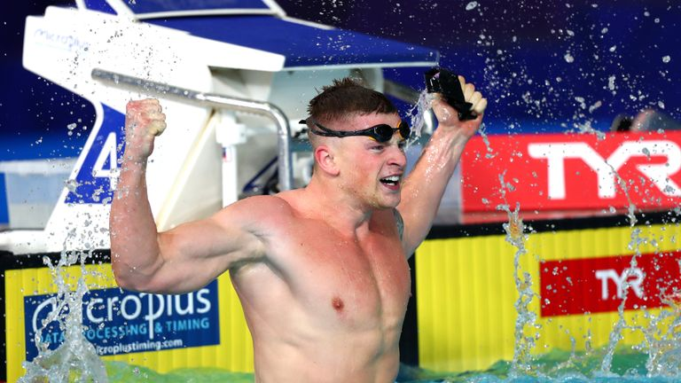 Adam Peaty is favourite to win his third straight 100m breaststroke world title in Korea