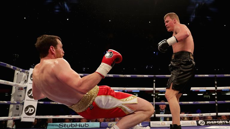 Price also suffered a setback when Alexander Povetkin knocked him out last year