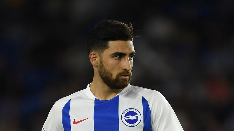 Alireza Jahanbakhsh is set to miss the game against Cardiff after picking up a knock