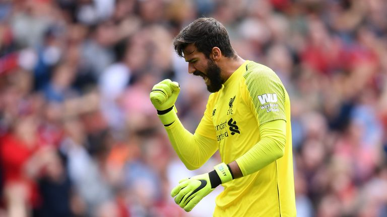 Alisson says he still has room for improvement