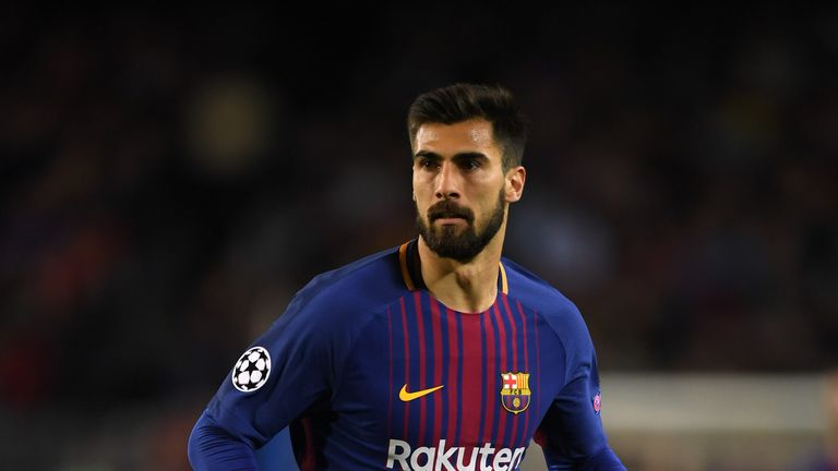 Andre Gomes has joined on a season-long loan