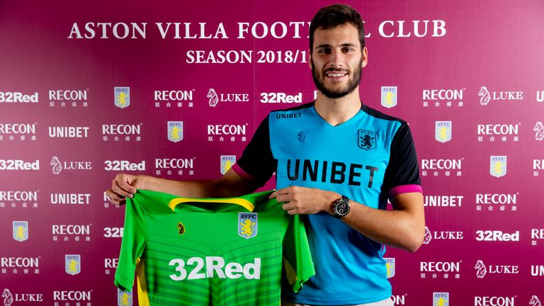 Andre Moreira is excited by the chance to join Aston Villa