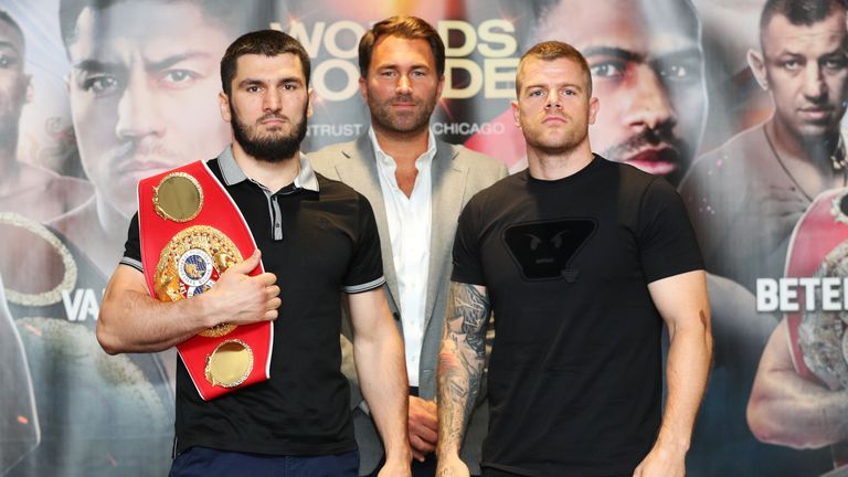 Callum Johnson challenges Artur Beterbiev for IBF title on Saturday in Chicago