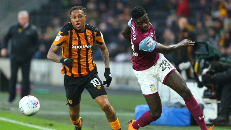 Axel Tuanzebe played five times for Aston Villa last season until injury cut his loan spell short.