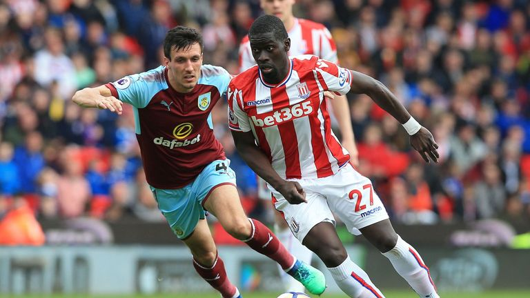 Stoke City's Badou Ndiaye could be involved in a swap deal and join Everton