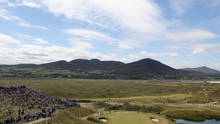 Ballyliffin was a stunning venue for the Irish Open in July