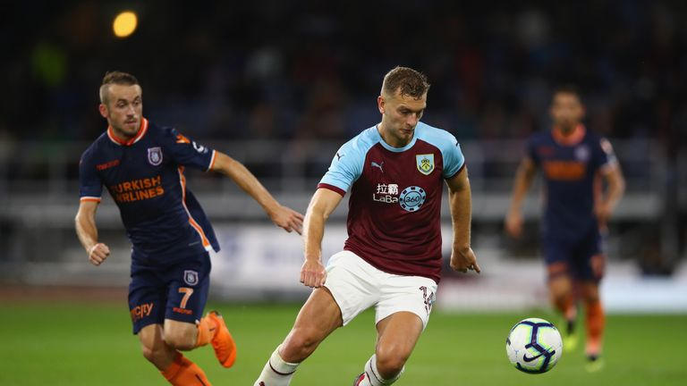Gibson is unlikely to start for Burnley against Watford on Sunday