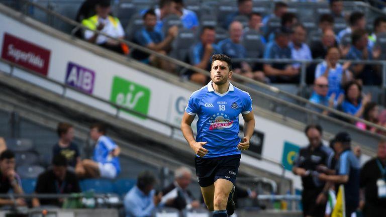 Bernard Brogan returns to action after seven months on the sideline