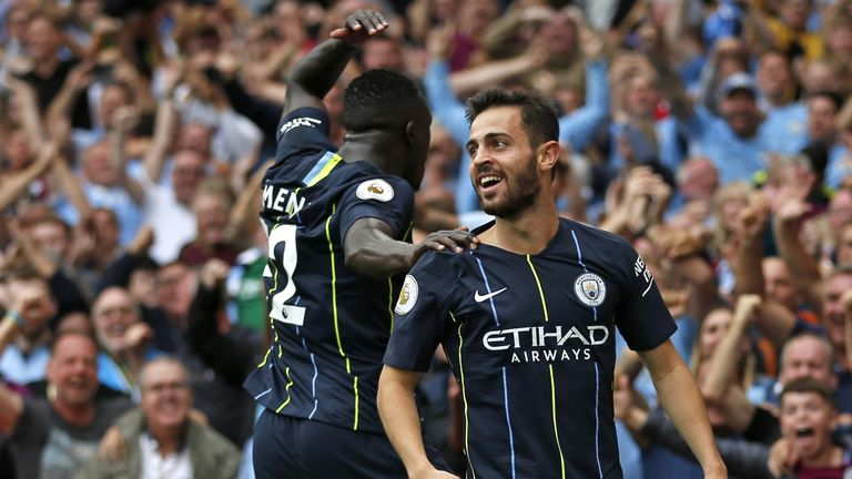 Bernardo Silva and Benjamin Mendy were  team-mates at Monaco before both joined Man City