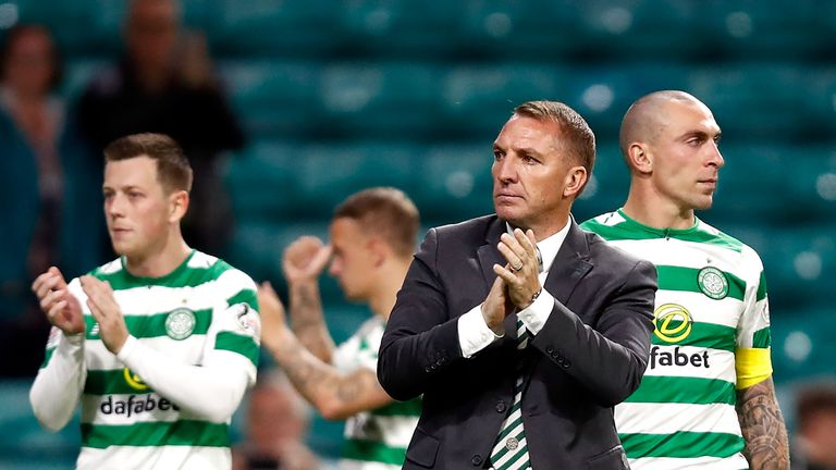 Scott Brown will not feature for Celtic this weekend