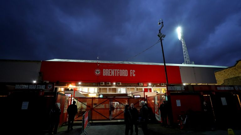 Brentford have been at Griffin Park since 1904