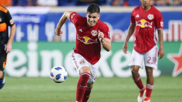 Brian White enjoyed a first start to remember to send Red Bulls top of the Eastern Conference