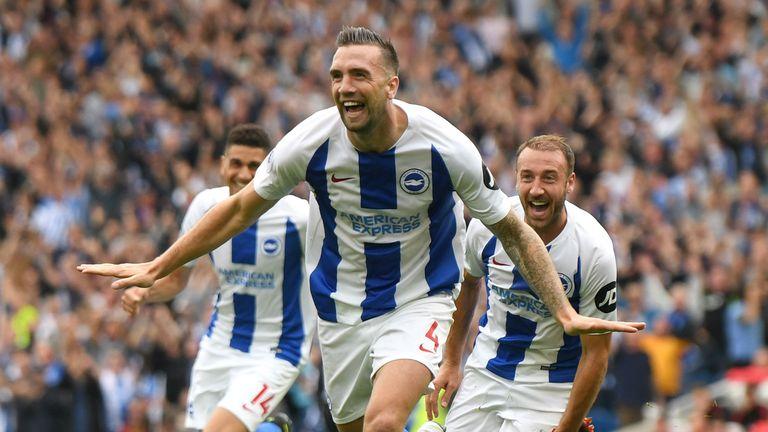 Shane Duffy starred for Brighton as they stunned Man Utd last weekend