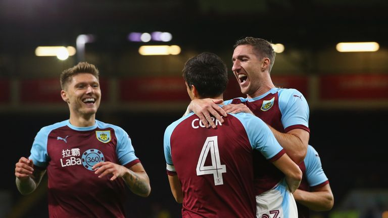 Burnley secured victory in the Europa League on Thursday
