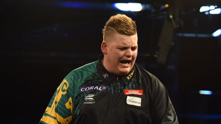 Corey Cadby has withdrawn from the World Series of Darts Finals