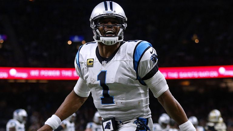 Cam Newton has led the Panthers to the playoffs in four of the last five seasons
