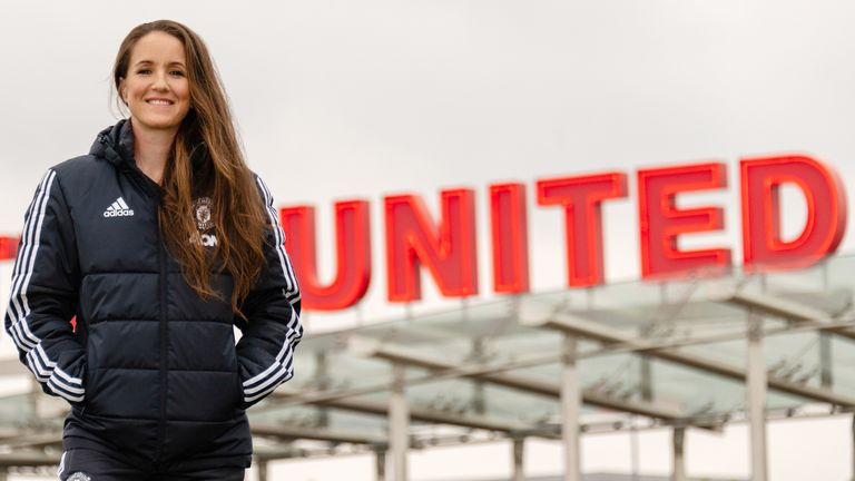 Casey Stoney is the new manager of Manchester United Women