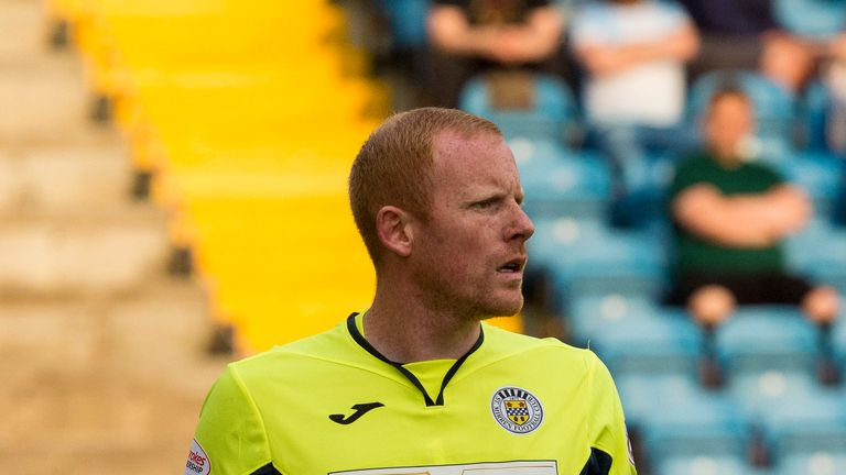 St Mirren goalkeeper Craig Samson saved a penalty at 1-1 last week against Dundee before his side went on to in 2-1