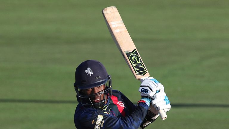 Danie Bell-Drummond helped Kent to victory over Middlesex
