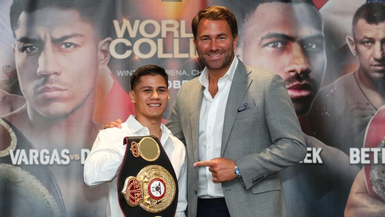 American WBA holder Roman is one of Hearn's latest signings