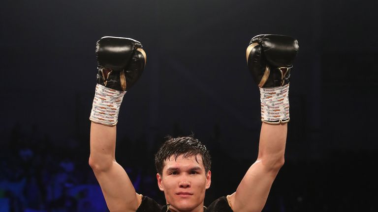 Yeleussinov will look to notch up his fifth career win