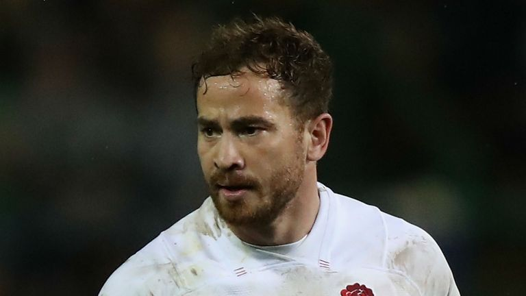 Danny Cipriani of England looks on during the third test match between South Africa and England at Newlands Stadium on June 23, 2018 in Cape Town, South Africa.