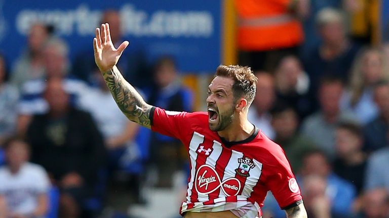 Danny Ings has scored two goals in four games for Southampton