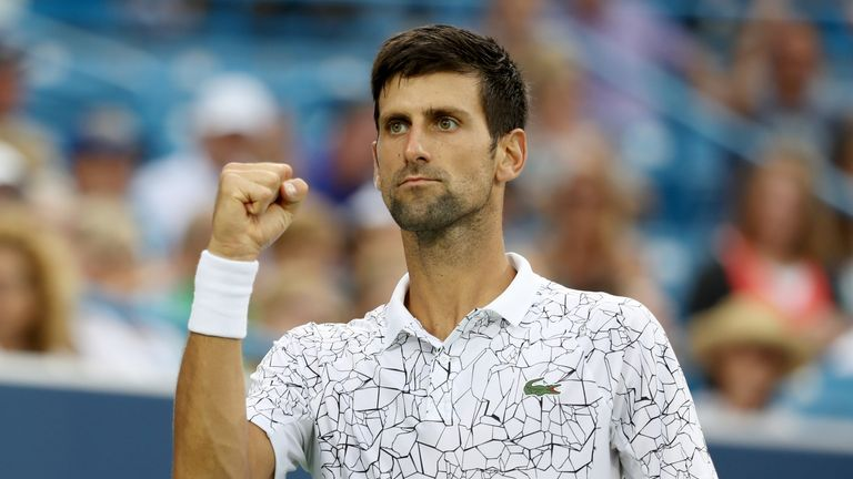 Djokovic has rediscovered his best tennis after a difficult start to the year