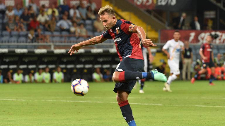 Genoa captain Domenico Criscito says he narrowly avoided the  collapse of the Morandi Bridge