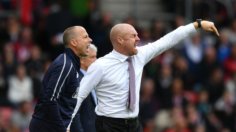 "Sean Dyche has defended his side's ""effective"" tactics"