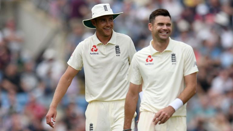 James Anderson and Stuart Broad both have strong Test records at Trent Bridge