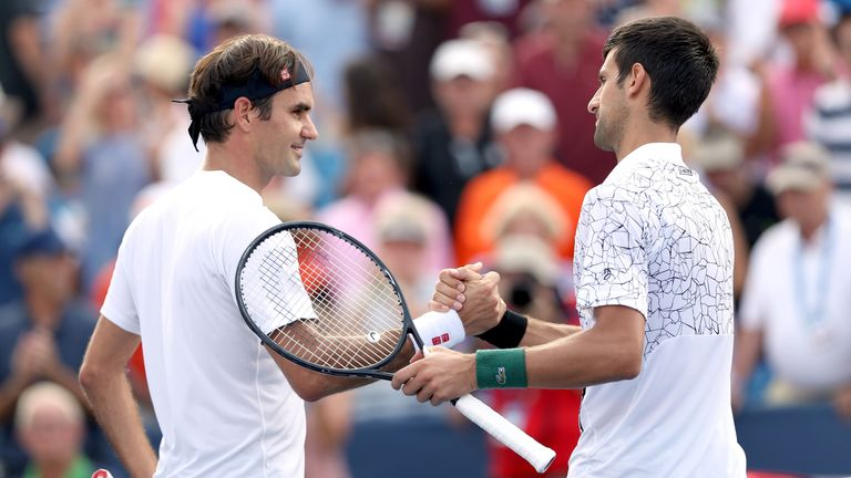 Watch Roger Federer and Novak Djokovic exclusively on Sky Sports on Sunday and Monday