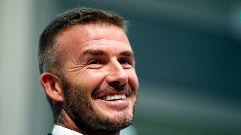 David Beckham buys 10% stake in Salford City
