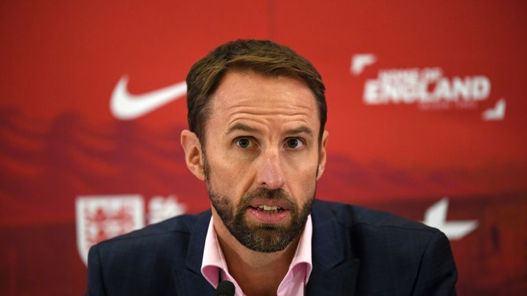 Gareth Southgate has 17 of his World Cup squad with him this week