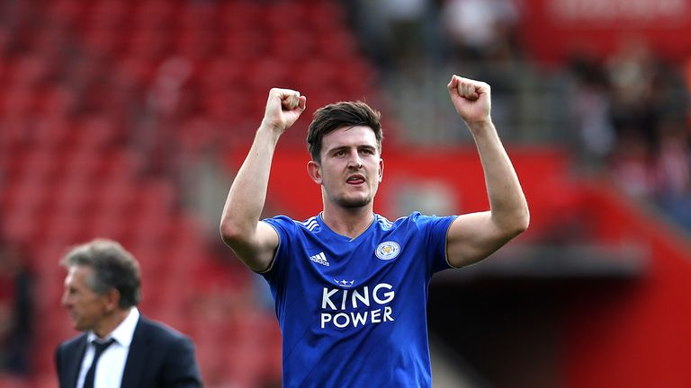 Harry Maguire stayed at Leicester despite interest in him this summer