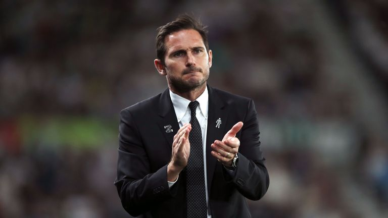 Frank Lampard's Derby sit sixth in the Championship