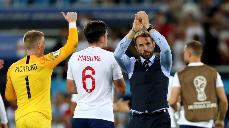 Gareth Southgate's England squad will show loyalty to World Cup stars